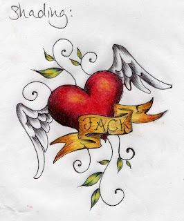 Sexy-tattoo girls-trend new: Heart tattoo designs