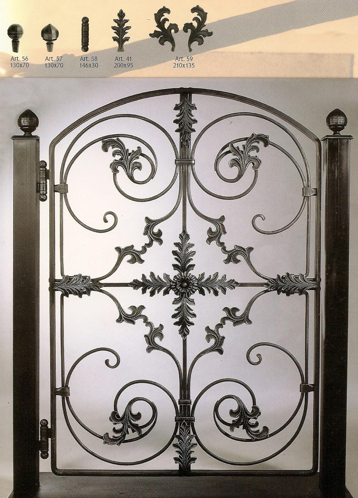 Eccezionale dg serramenti: DG serramenti - lavori in ferro battuto RI81