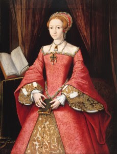Rich Tudor women would have worn big dresses that covered all their
