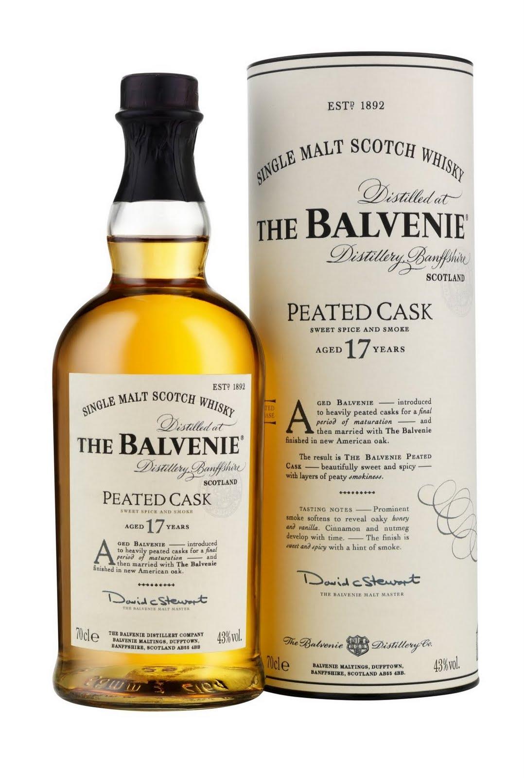 Balvenie Peated Cask