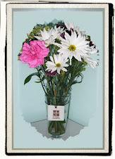 On a flower vase