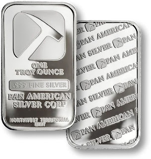 Pan American Silver Bar - Copyright © 2009 Northwest Territorial Mint