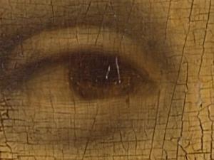 Kode Rahasia Di Mata Mona Lisa??