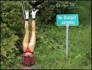 No bungee jumping