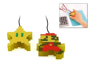 Mario Bros Dot Design mouse