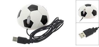 Soccer ball mouse