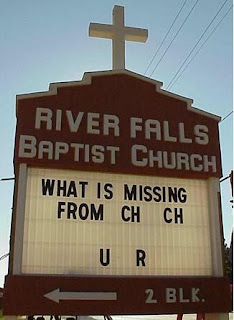 What is missing from church?