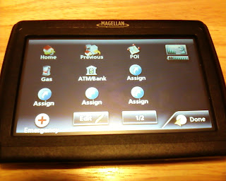 Magellan SE4 GPS One-Touch Screen
