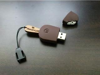 magnum ice cream USB flash drive
