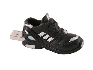 Black Shoe USB Drive