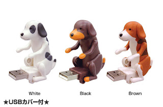 Humping dog USB flash drive