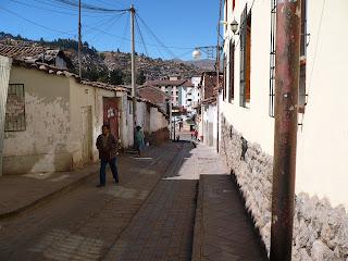 Ahuacpinta street, Cusco