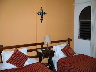 San Agustin Colonial Hotel, Lima, beds