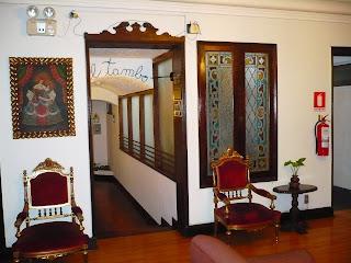 Hotel San Agustin Colonial, Lima, Lobby
