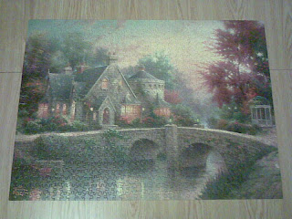 Jigsaw puzzle fully complete