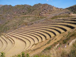 Terraces at Inca Pisac