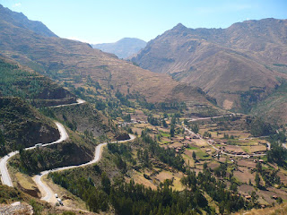 Sacred Valley from Inca Pisac