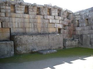 Principal temple, machu Picchu