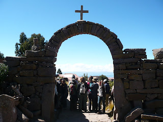 Arch on Taquile island