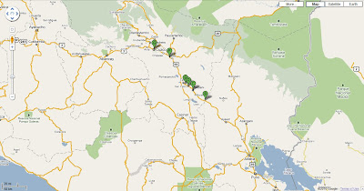 Puno to Cusco orientation map
