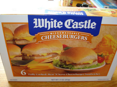 The Frozen Foods Section Of Our Grocery With An Eye On A Product That It Seems Couldn T Possibly Be Any Good White Castle Microwavable Burgers