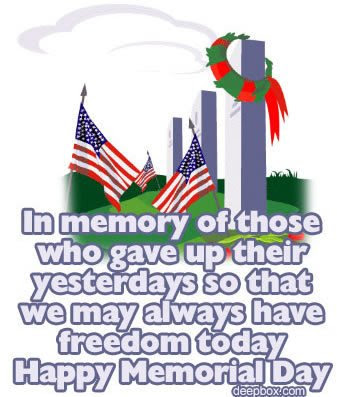 Memorial Day Sayings