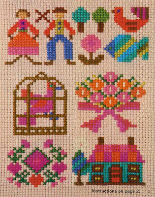 LDS Temple Patterns in Counted Cross Stitch - Horizon Publishers