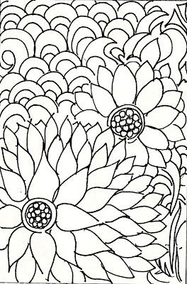 Lets doodle coloring pages christmas for pinterest