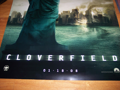 cloverfield monster movie poster