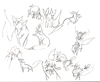 fox princess sketches Graphic Novel: More