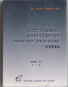 Dicionario procesal penal