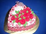 Kek Span+Bunga Keropok