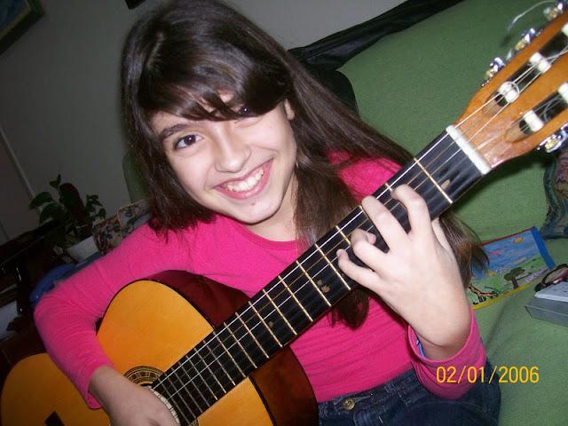 Minha aluna Flavia Valle