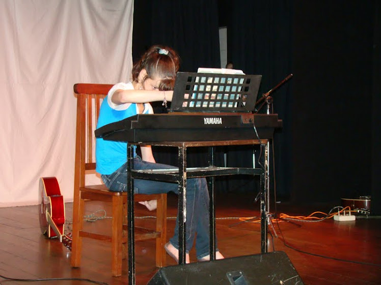 Minha aluna que é um exemplo de superação!