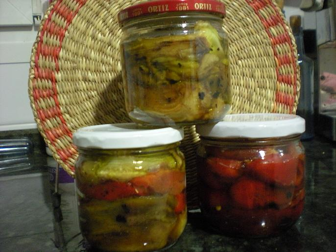 Mayselva conserva de pimientos y berenjenas - Hacer mermelada de pimientos ...