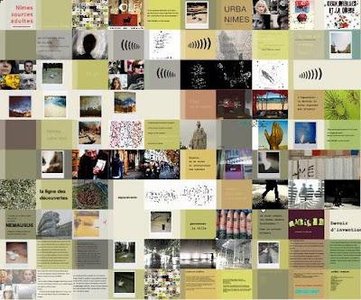 mosaicweb URBA NÎMES, revue de création en ligne