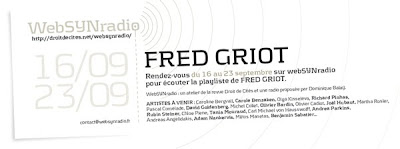 fred griot websynradio600 Tarkos & cie par Fred Griot