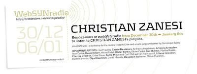 c zanesi websynradio eng600 Christian Zanesi : le passage de lannée sur websynradio !