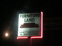 Furniture Land..a Furniture Store Which Was, In Itu0027s Former Life..a  Furniture Store! Most Former Furniture Stores Become Charter Schools Or  Flea Markets ...