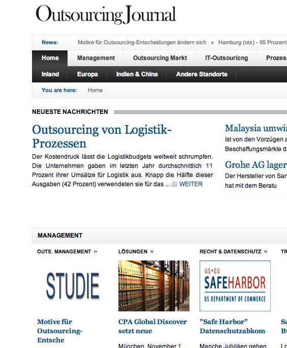 Www outsourcing journal org bitte folgen sie uns zum neuen outsourcing