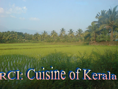 Currybazaar announcing rci cuisine of kerala for Cuisine of kerala