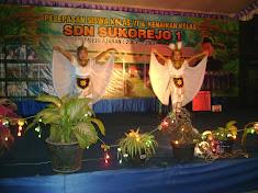 Tari Merak dlm acara perpisahan klas 6 th 2009/2010