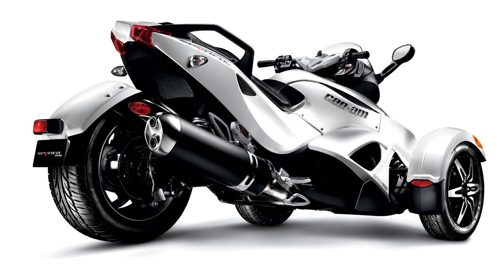 all motorcycle pictures 2009 can am spyder roadster se5. Black Bedroom Furniture Sets. Home Design Ideas