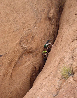 Technical Slot Canyoneering