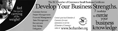 bc chamber of commerce print ad