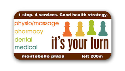 health services billboard design