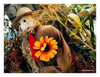 garden scarecrow photo