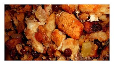 turkey stuffing photo
