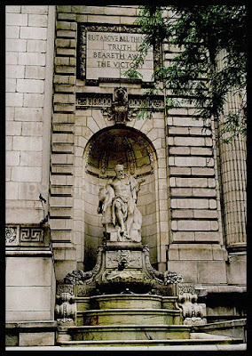 new york public library truth fountain