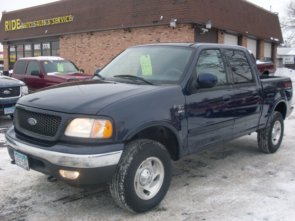 James 2003 Ford F150 Xlt Blue